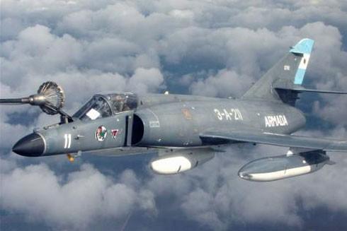 Phi công Argentina tham chiến trong cuộc chiến Falklands
