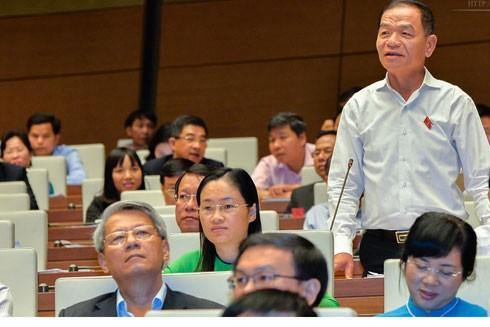 Đại biểu Lê Thanh Vân (đoàn Cà Mau)