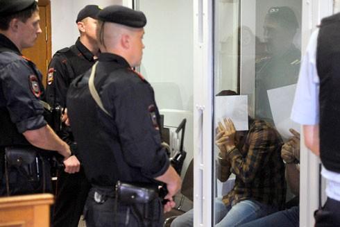 Các thành viên của băng cướp GTA trong phòng cách ly tại tòa