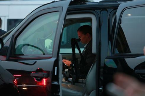 Các mật vụ Mỹ luôn tỏ ra chuyên nghiệp và lạnh lùng khi thực hiện nhiệm vụ