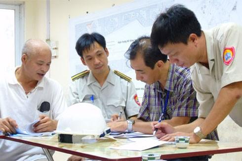 Lực lượng thanh tra xây dựng sẽ được chuyển về các quận, huyện (Ảnh minh họa)