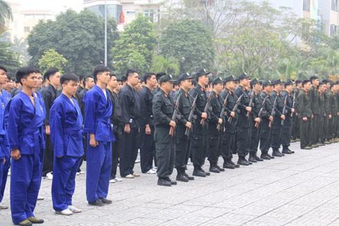 Các lớp đào tạo, tập huấn được mở tại Trung tâm HL&BDNV, CATP Hà Nội ngày càng chính quy, bài bản