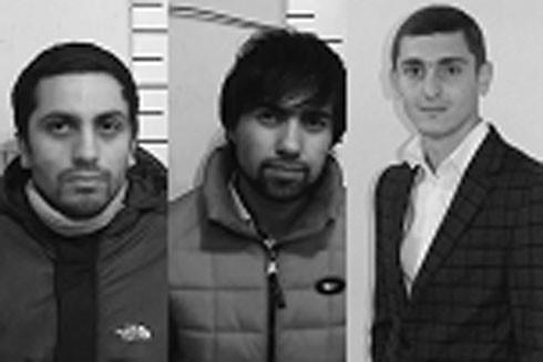 Các đối tượng Isaev, Makhmudov và Gakhramanov
