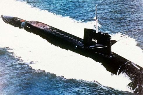 Tàu ngầm hạt nhân USS Simon Bolivar của Mỹ từng bị tàu ngầm của Liên Xô theo dấu vết