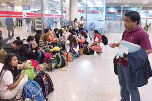 Người lao động Philippines đến Kuwait làm việc