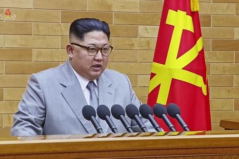 Nhà lãnh đạo Triều Tiên Kim Jong-un phát biểu đầu năm mới 2018