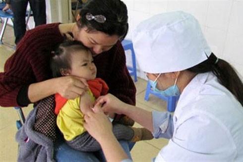 Hiện vaccine sởi trong chương trình tiêm chủng mở rộng đang được tiêm tại tất cả các trạm y tế