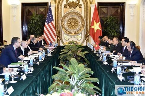 Toàn cảnh buổi Đối thoại Chính trị - An ninh - Quốc phòng Việt Nam - Hoa Kỳ lần thứ 9 ngày 30-1 tại Hà Nội