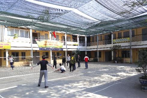 Trong thời gian không xa, các em học sinh trường THCS Thịnh Liệt sẽ có nơi học tập, sinh hoạt khang trang
