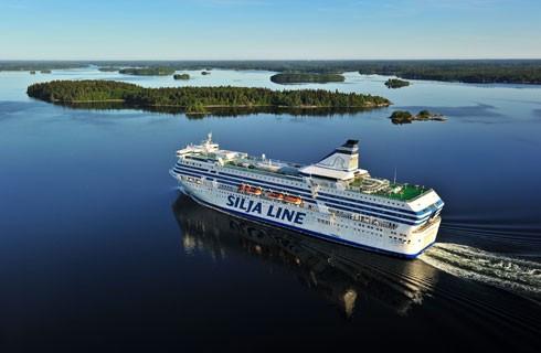"""Silja Symphony, còn được mệnh danh là """"Huyền thoại phương Bắc"""" - một trong những con tàu du lịch 5 sao nổi tiếng nhất thế giới"""