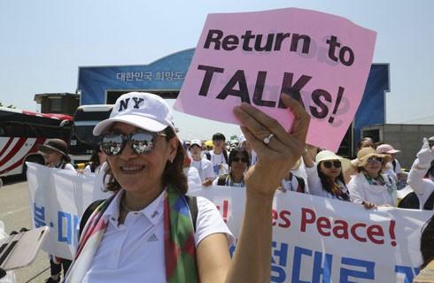 Người dân Hàn Quốc kêu gọi tiếp tục đối thoại giữa Mỹ với Triều Tiên
