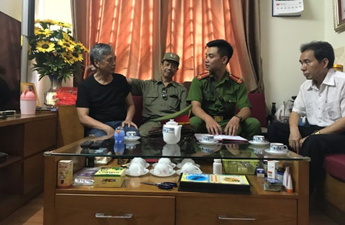Lắng nghe, chia sẻ và kịp thời giải quyết những bức xúc của nhân dân là tiêu chí thực hiện nhiệm vụ của Trung úy Vương Ngọc Huy