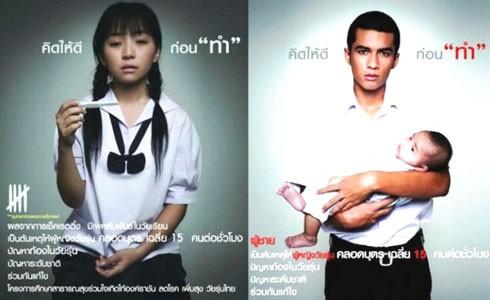 Tỷ lệ sinh con ở trẻ vị thành niên tại Thái Lan đang gia tăng