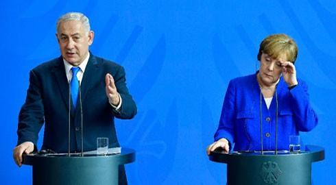 Thủ tướng Israel Benjamin Netanyahu và nữ Thủ tướng Đức Angela Merkel bất đồng quan điểm sâu sắc trong vấn đề hạt nhân của Iran