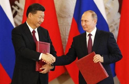 Các cuộc gặp lãnh đạo cấp cao giữa Nga - Trung Quốc thường xuyên diễn ra
