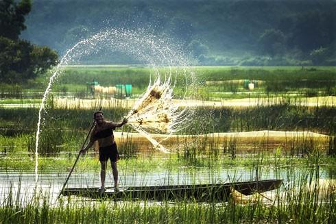 Mùa nước nổi lừng danh vùng Đồng Tháp Mười