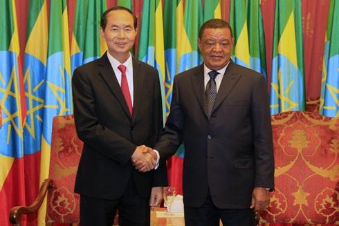 Tạo xung lực mới cho quan hệ hợp tác Việt Nam - Ethiopia ảnh 1