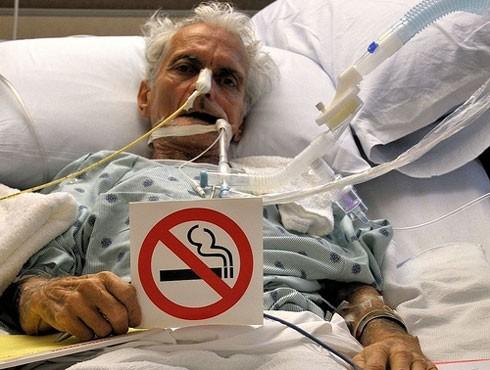 Thuốc lá là nguyên nhân chính gây ra bệnh ung thư phổi trên thế giới