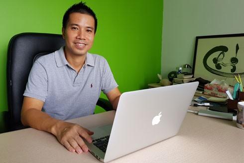 Ông chủ của Jupviec.vn Phan Hồng Minh vẫn chỉ kiên trì với dịch vụ giúp việc gia đình