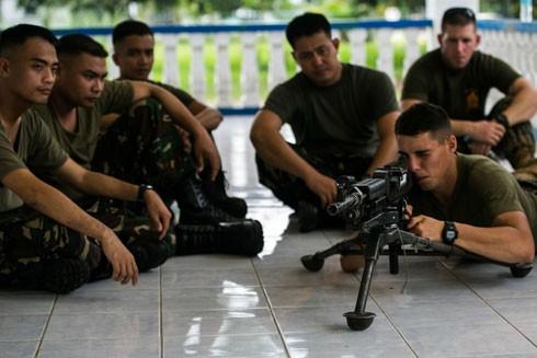 Binh sĩ Mỹ tiếp tục hiện diện tại Philippines, tập trung vào việc ngăn chặn hơn là phản ứng nhanh trước các cuộc tấn công khủng bố