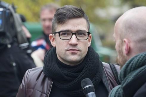 Martin Sellner - người đứng đầu phong trào cực hữu tại Áo từng nhận tiền quyên góp của đối tượng gây ra vụ xả súng kinh hoàng ở New Zealand