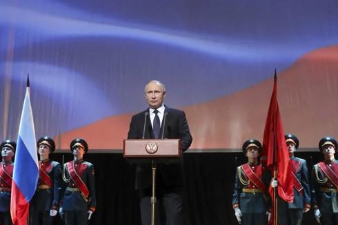 Tổng thống Nga Vladimir Putin luôn tìm cách khẳng định vai trò và vị thế của Nga trong các vấn đề quốc tế hệ trọng