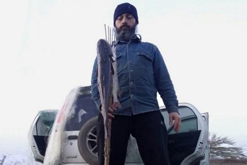 Andrei trong một lần đi câu cá