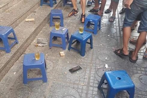 Quán trà đá nơi xảy ra vụ việc