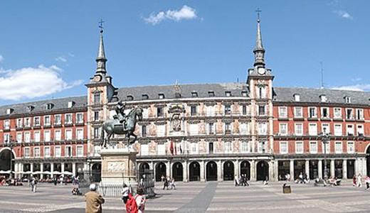 Plaza Mayor từng bị hỏa hoạn thiêu rụi đến 3 lần trong lịch sử