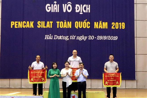 Ban tổ chức cũng trao các bộ huy chương cho các vận động viên thi đấu xuất sắc ở các nội dung Seni và Tanding