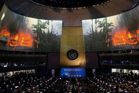 Biến đổi khí hậu vẫn chưa được coi trọng trong Hội nghị Thượng đỉnh Liên hợp quốc ảnh 1