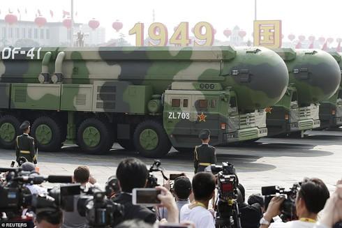 """Sau khi công bố học thuyết """"giấc mộng Trung Hoa"""", Trung Quốc đầu tư nguồn lực lớn cho quân sự để trở thành cường quốc quân sự toàn cầu"""