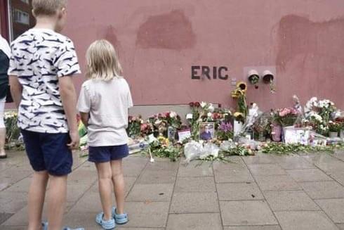 Khu vực tưởng niệm Eric Torell tại Thủ đô Stockholm, Thụy Điển