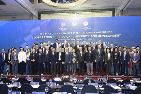 """Hàng trăm đại biểu quốc tế tham dự Hội thảo khoa học về Biển Đông với chủ đề """"Hợp tác vì an ninh và phát triển tại khu vực"""""""
