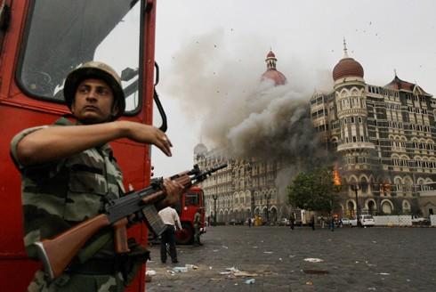 Hiện trường vụ khủng bố ngày 26-11-2008 tại Mumbai