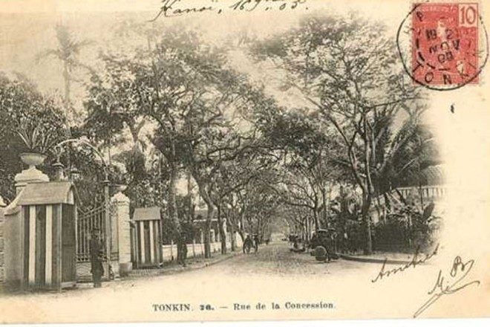 Từ Đồn Thủy, khu phố Pháp lan ra khu vực nay là đường Phạm Ngũ Lão