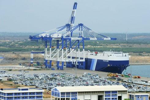 Cảng nước sâu Hambantota của Sri Lanka đang được Trung Quốc thuê trong thời hạn 99 năm