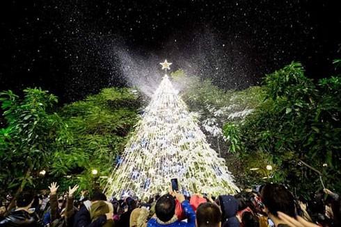 Những địa điểm vui chơi ấn tượng đón Giáng sinh 2019