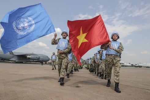 Việt Nam cử lính mũ nồi xanh tham gia lực lượng gìn giữ hòa bình Liên hợp quốc triển khai Bệnh viện Dã chiến cấp 2 tại Nam Sudan