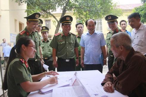 Các đoàn thể CATP Hà Nội luôn xác định mục tiêu cao nhất là phục vụ nhân dân hiệu quả