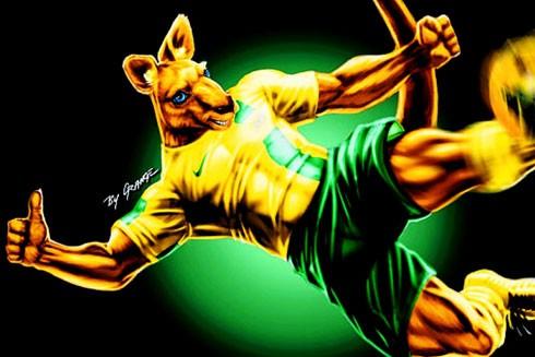 """Hình ảnh đại diện mạnh mẽ của cầu thủ """"Chuột túi"""" đội tuyển Australia"""