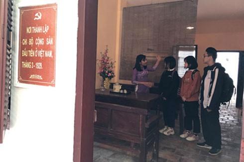 Di tích 5D Hàm Long- nơi thành lập Chi bộ Cộng sản đầu tiên ở Việt Nam (ảnh: Linh Tâm)