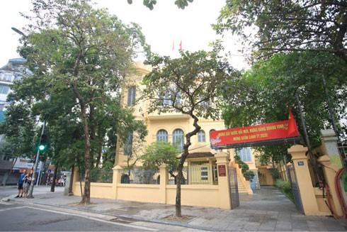 Di tích 90 Thợ Nhuộm - nơi đồng chí Trần Phú viết Dự thảo Luận cương chính trị (ảnh: Phạm Hùng)