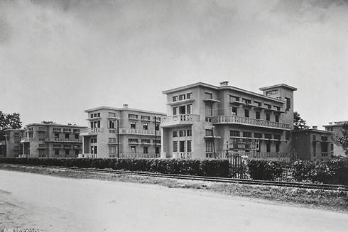 Bệnh viện René Robin (Bệnh viện Bạch Mai ngày nay) trong đồ án quy hoạch của người Pháp