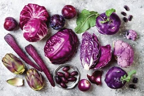 Lợi ích bất ngờ của các loại rau, củ, quả màu tím