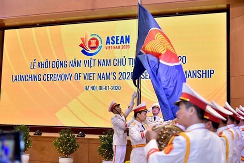 Quang cảnh lễ khởi động Năm Chủ tịch Asean 2020 của Việt Nam