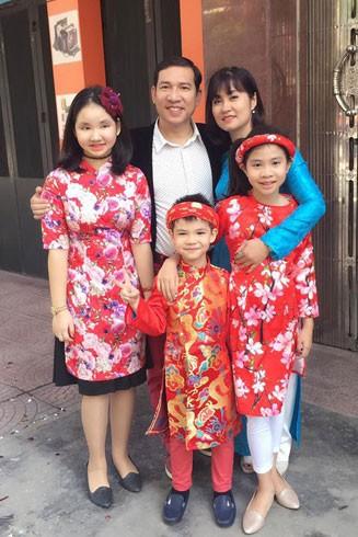 Gia đình hạnh phúc của NSƯT Quang Thắng
