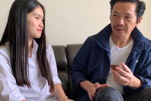 NSND Trung Anh và con gái