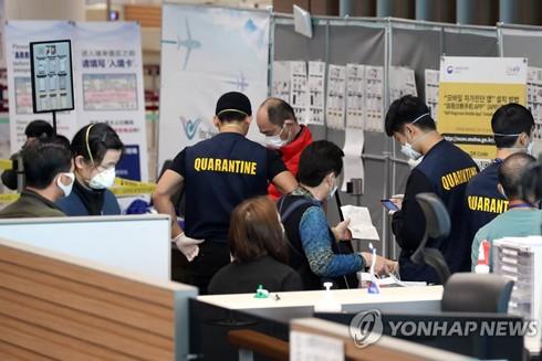 Từ ngày 9-3, Hàn Quốc cũng thắt chặt quy định nhập cảnh đối với hành khách đến từ Nhật Bản