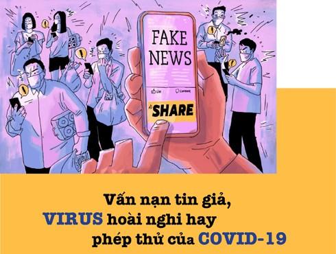 Tin giả, tin đồn cũng nguy hiểm như dịch bệnh Covid-19